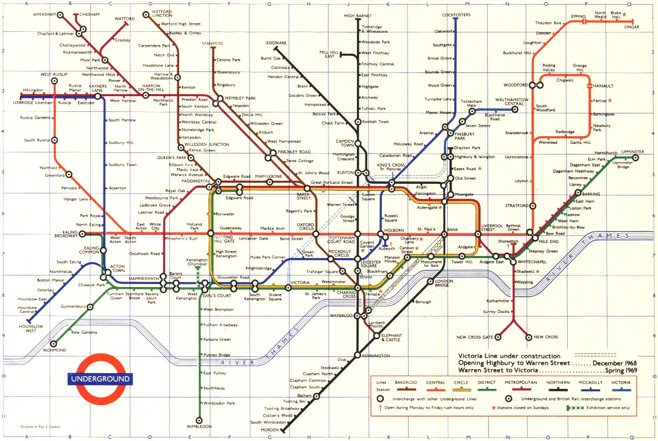 Metropolitan Line - Northern line map london
